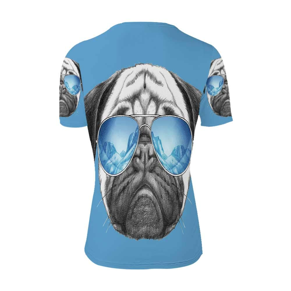 Pug Fashionable T Shirt,for Men,S