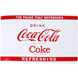 Set de Table Coca Cola Coke Pub Vintage USA Blanc