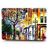 HRH Bright Street Painting Pattern Design Laptop