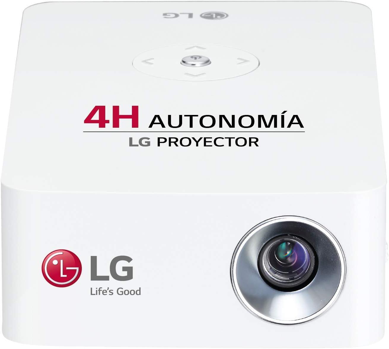 LG CineBeam PH30JG - Proyector con batería integrada (hasta 100 ...