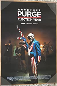 THE PURGE ELECTION YEAR MOVIE POSTER 2 Sided ORIGINAL 27x40 FRANK GRILLO