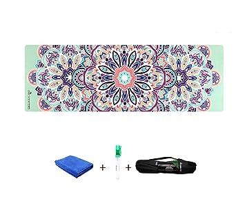 LYDB Colchoneta de Yoga Eco amigable Antideslizante Goma ...