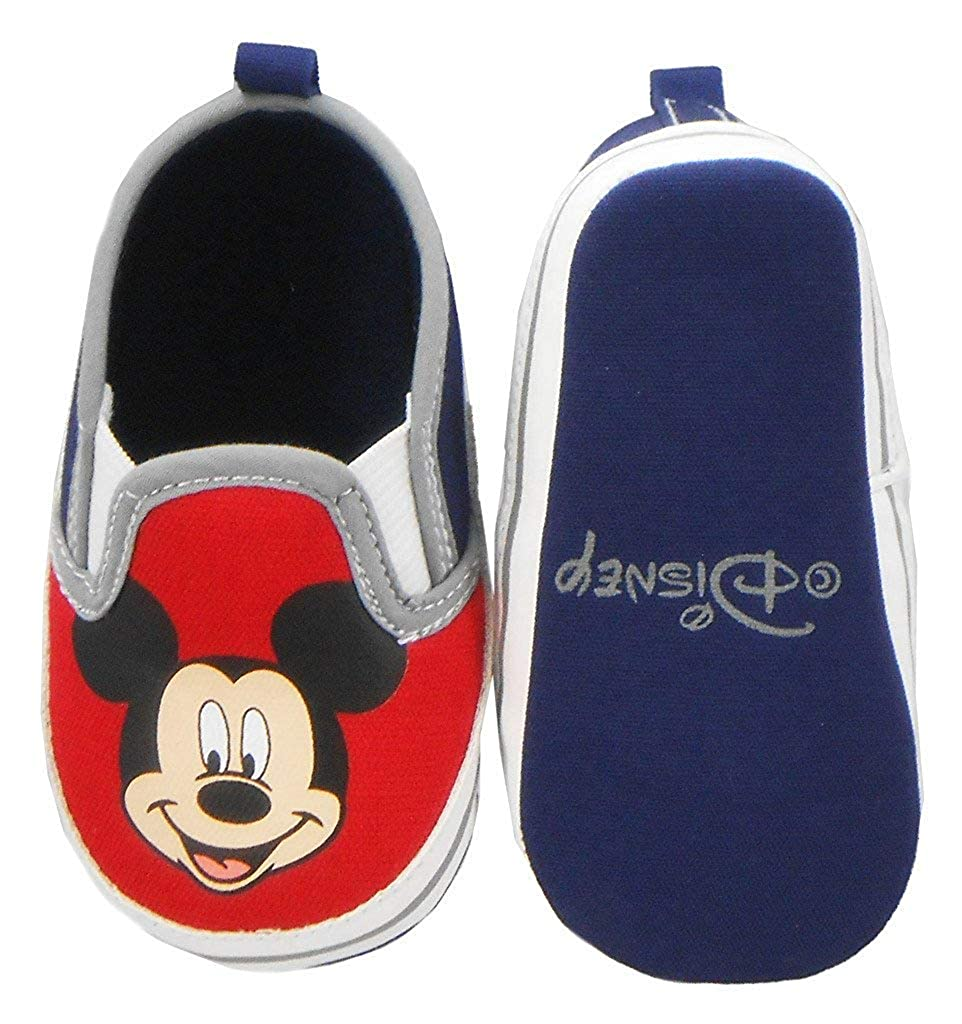 Disney Newborn/Infants Boys Mickey Mouse Slip-On