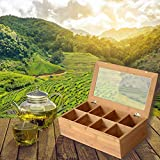 Zen Earth Bamboo Storage Box Tea Chest | Ultimate
