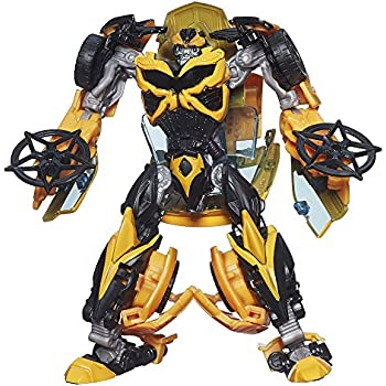 Transformers Age of Extinction Generations Deluxe Class Bumblebee Figure(Discontinued by manufacturer)