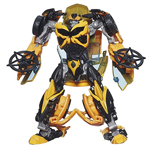 Transformers Age of Extinction Generations Deluxe Class Bumblebee Figure(Discontinued by (Transformers Age Of Extinction Bumblebee)
