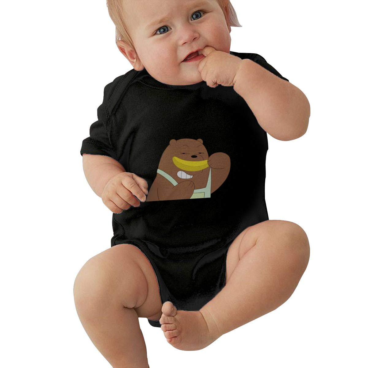 UyGFYytg Flag of Denmark Baby Newborn Crawling Suit Sleeveless Onesie Romper Jumpsuit Black