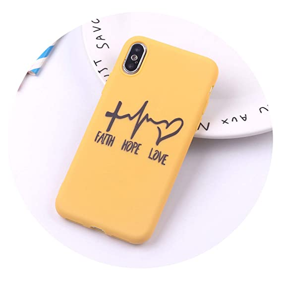 coque iphone 8 plus hope silicone