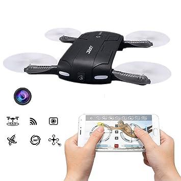 WIFI FPV Drone Plegable, JJRC H37 Mini Bebé Elfie Quadcopter con ...