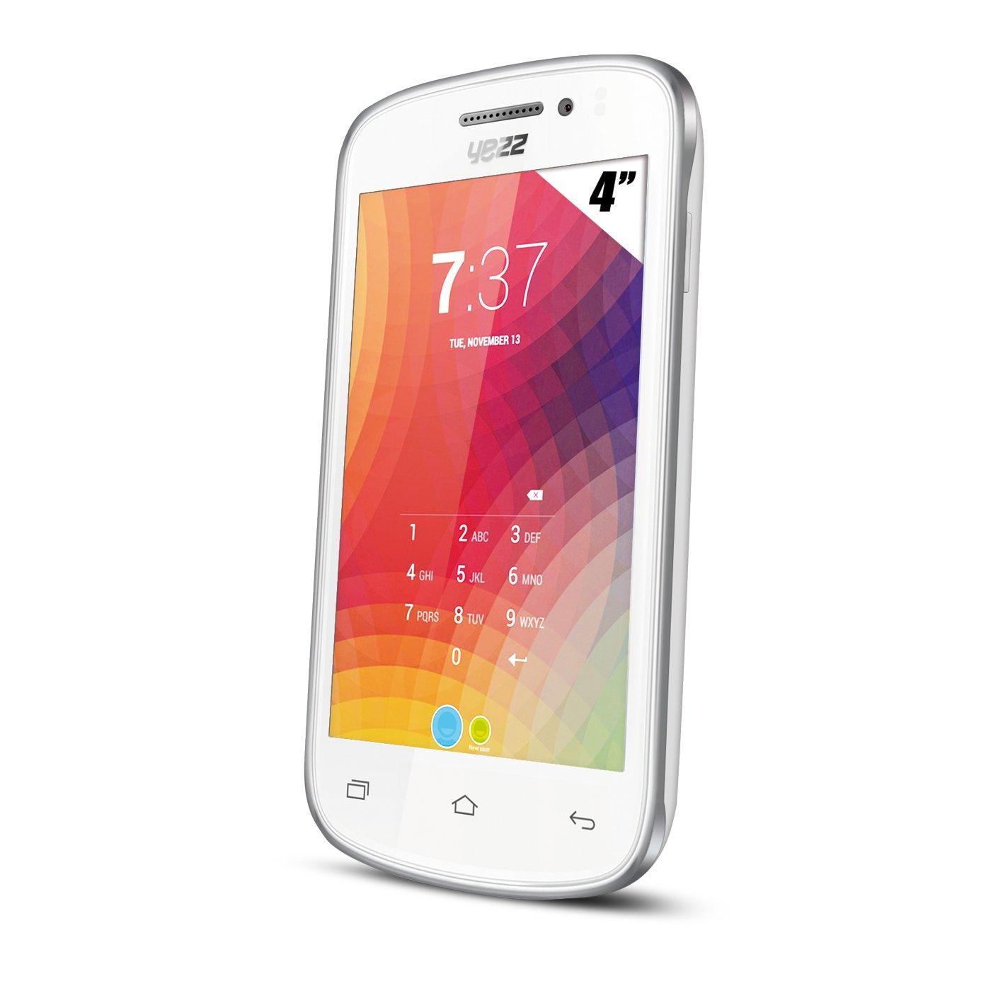 Yezz A4E Smartphone Libre (4 GB, Pantalla de 4 Pulgadas, Dual SIM ...