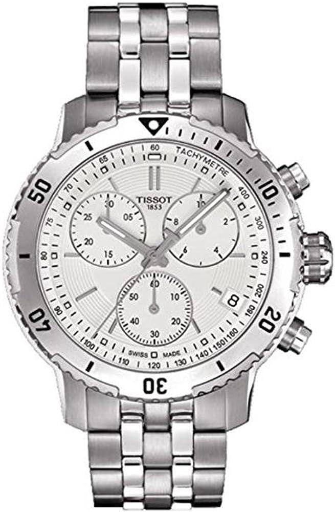 Tissot PRS 200 Chronograph Silver Dial Men s Watch T067.417.11.031.01