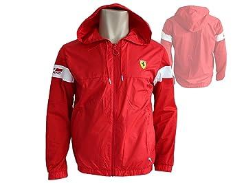 Puma Ferrari Men s Lightweight Jacket (761829), Unisex, 761829, Rosso