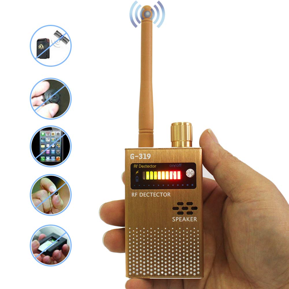 Anti-Spy RF Signal Detector GPS Wireless Camera Detector Electronic Bug Detector Spy Device Scanner Finder by Kenell