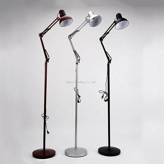 Modeen lámparas de pie clásicas lámpara de pie plegable vintage ...
