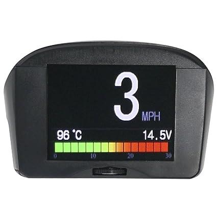 Ordenador de a bordo X50 Plus OBD con alarma de velocidad, agua, temperatura ,