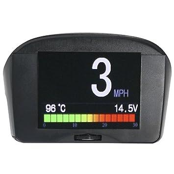 Ordenador de a bordo X50 Plus OBD con alarma de velocidad, agua, temperatura,