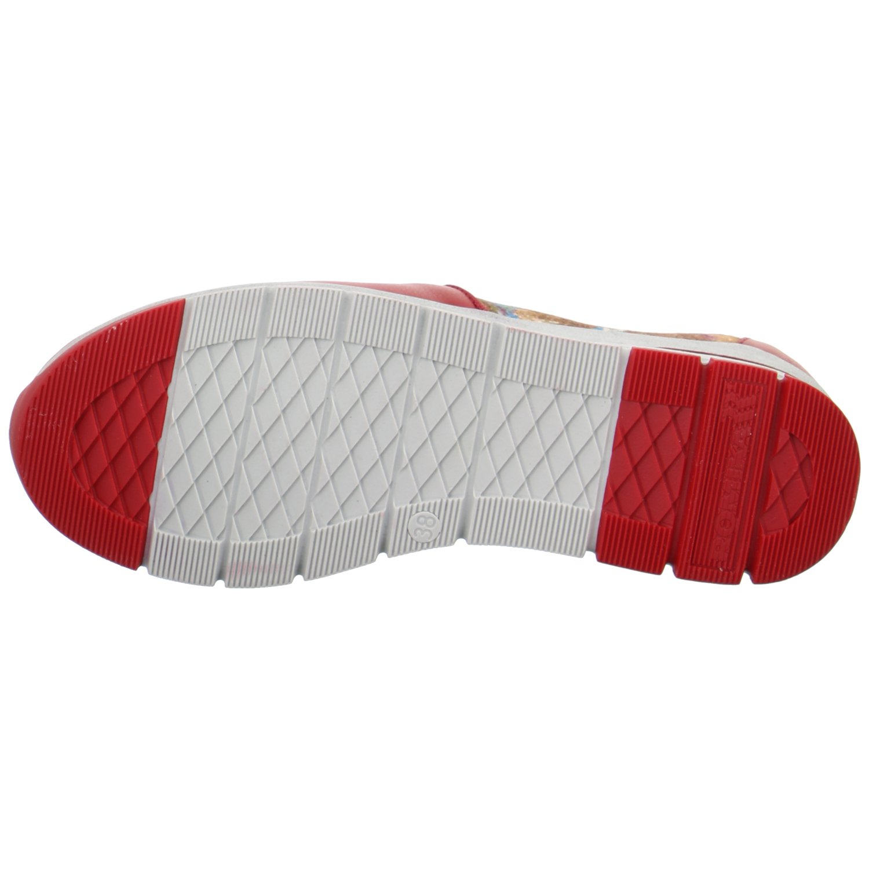 Romika, Tabea 17, 31217, Damen Slipper, rot rot rot gemustert(400) a14224