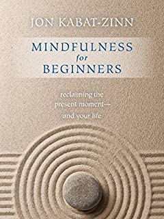 Book Cover: Mindfulness for Beginners: Reclaiming the Present Momentand Your Life
