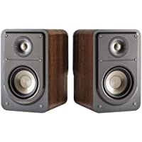 Deals on Polk Audio Signature S15 Bookshelf Speaker Pair + JBL Headphones