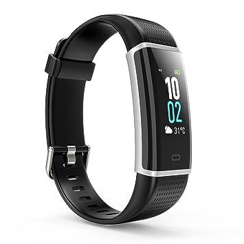 HUTBiT Pulsera Actividad, Pulsera Inteligente Pantalla Color Fitness Tracker con Cardíaco Monitor Reloj: Amazon.es: Deportes y aire libre