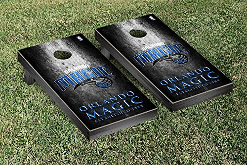 Orlando Magic NBA Basketball Regulation Cornhole Game Set Museum Version by Victory Tailgate