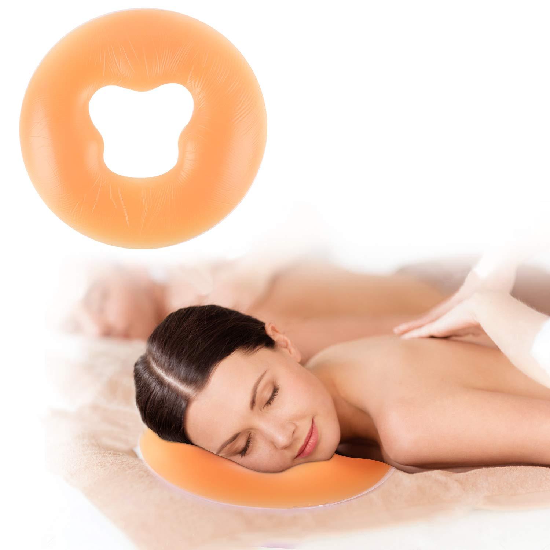 Silicone Face Massage Pillow, Body Relax Massage Face Spa Beauty Salon Care Cushion (Flesh Color) Lovingvs 4332459017