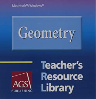 Amazon ags geometry teachers edition 9780785438304 geometry teachers resource library on cd rom for windows and macintosh fandeluxe Image collections