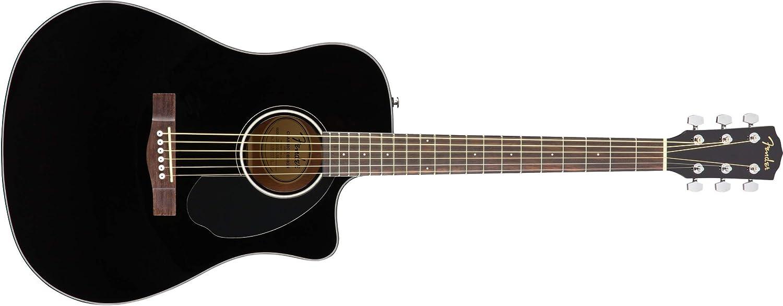 Guitarra Fender, negro