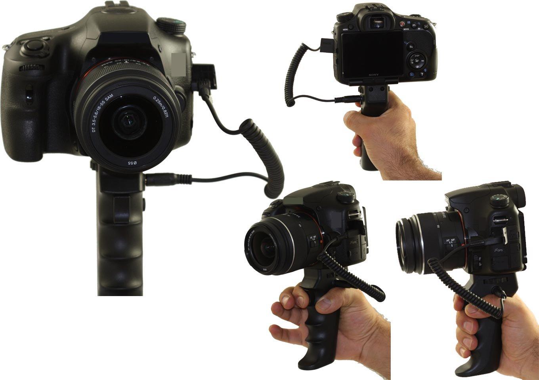 JJC Professional Handheld Pistol Grip Tripod + Remote Control Nikon D300 D300s D700 D800 D3 D3X D3S by JJC