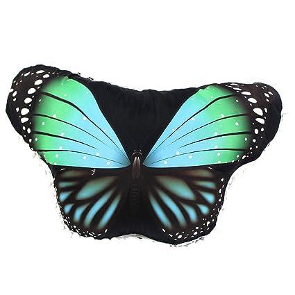 LILICAT Almohada con Forma de corazón en Forma de Mariposa ...