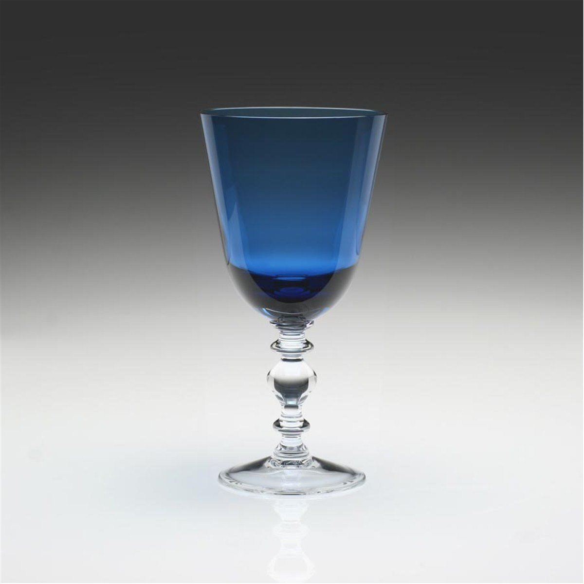 William Yeoward Country ''Fanny'' Goblet, Blue