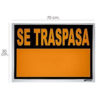 Wolfpack 15056025 Cartel Se Traspasa 70 x 50 cm.: Amazon.es ...