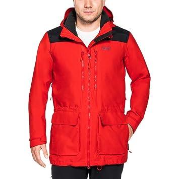 7a871e43e4 Jack Wolfskin Mens Pan-American Trek Waterproof Breathable Jacket:  Amazon.es: Deportes y aire libre