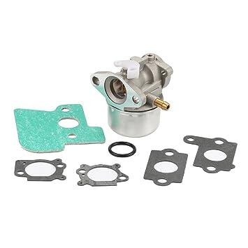 Salvador carburador 790120 con junta tórica de juntas para BRIGGS & Stratton 499617 693909 694202 692648