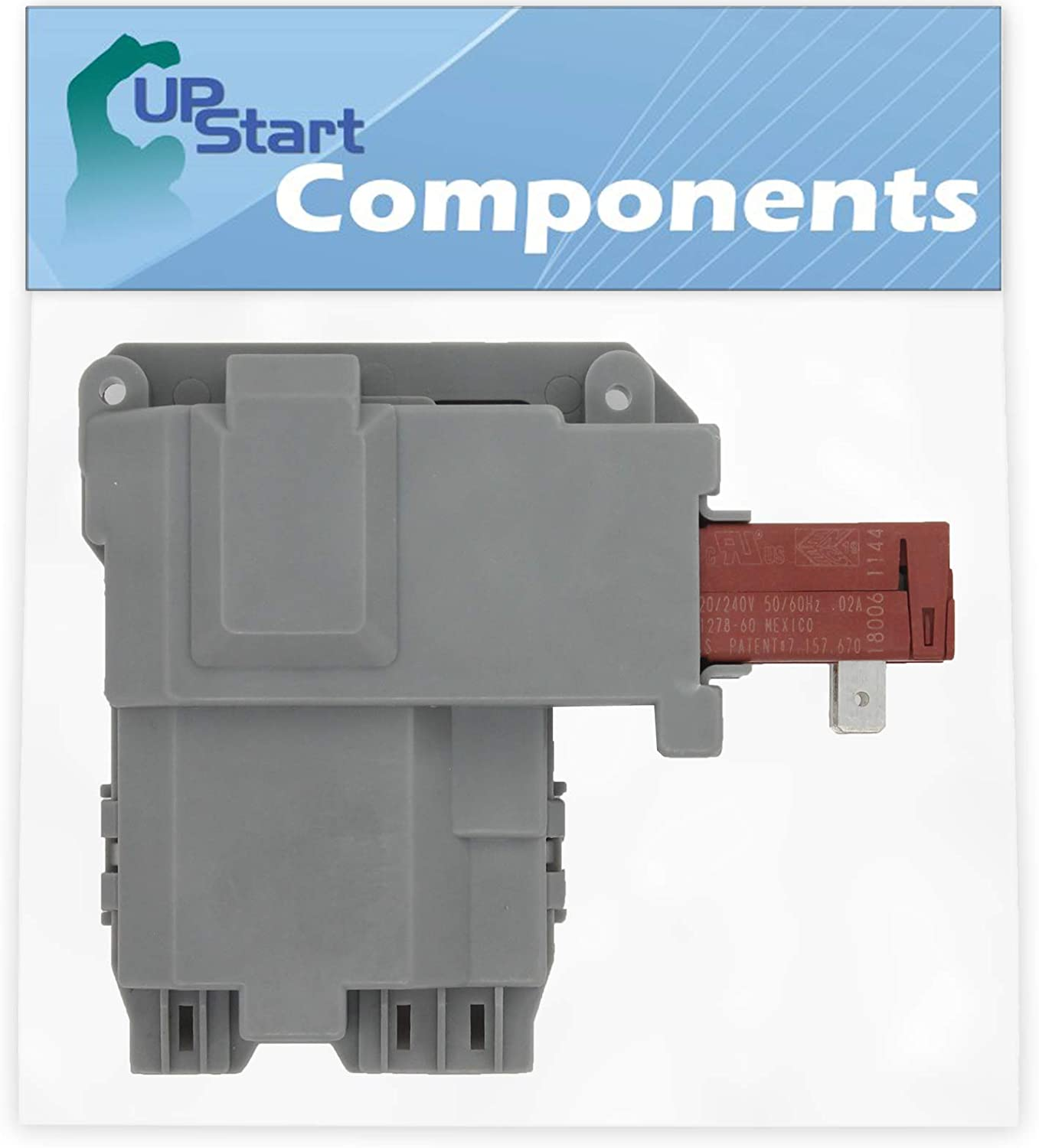 131763202 Washer Door Latch Replacement for Frigidaire GLTF2940ES0 Washing Machine UpStart Components Brand Compatible with 131763202 Door Lock Switch
