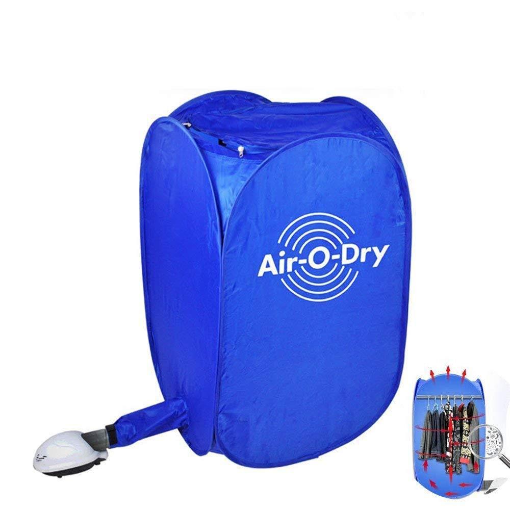 Mini Secador Eléctrico Portable Instalación Libre Plegable (Azul): Amazon.es
