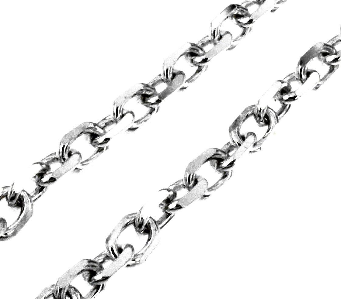 40 POLLICI extra-long catena in metallo con clip di fine st-19-40s GRATIS UK Consegna