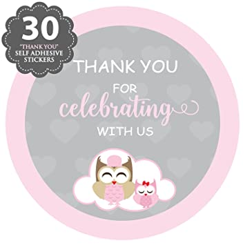 Amazon Xoxokristen Pink Baby Girl Shower Collection Owl Baby