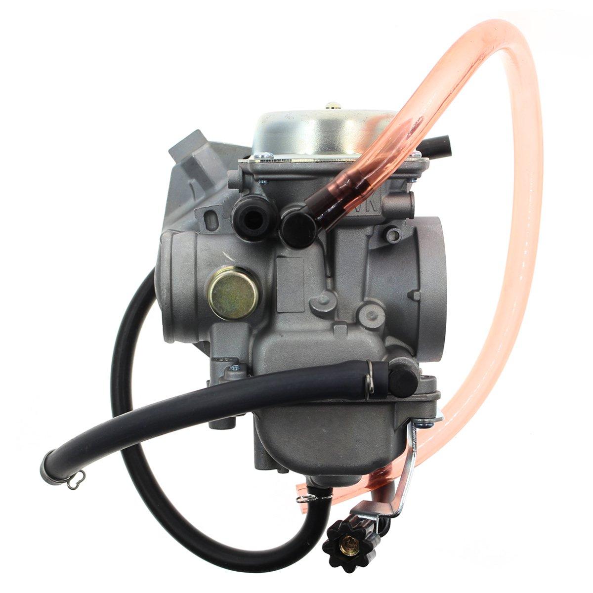 Goodeal Carburetor Carb For 015004 0041 Kawasaki Kvf360 2003 360 Engine Diagram Prairie 2x4 08 09 4x4 02 12 Automotive
