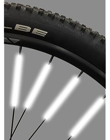 Bike Spoke Reflector Jusmar Pack of 36 - Bike Reflectors for Mountain and Road Bikes -