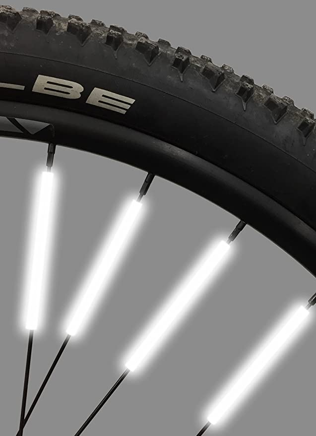 New 36 pcs Wheel Spoke Colorful Star Decoration Reflector Cycling Bicycle Bike