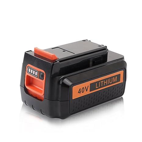 Amazon.com: enegitech 40 V 2.0 Ah Li-Ion Batería de repuesto ...