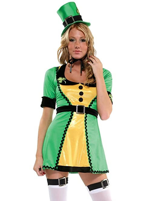 Forplay Lady Lucky Charm Dress St. Patricku0027s Leprechaun Halloween Costume  sc 1 st  Amazon.ca & Forplay Lady Lucky Charm Dress St. Patricku0027s Leprechaun Halloween ...