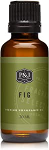 P&J Trading Fig Fragrance Oil - Premium Grade Scented Oil - 30ml