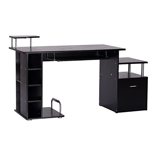 HOMCOM – Super scrivania salvaspazio