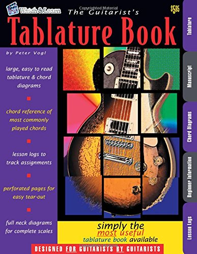 The Guitarist's Tablature Book - Blank Guitar Tab ()