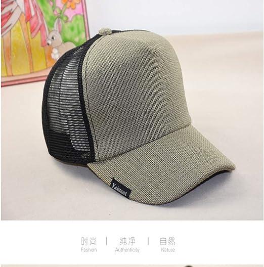 sdssup Gorra Sombrero Masculino Grande Cara Grande Sombrero ...