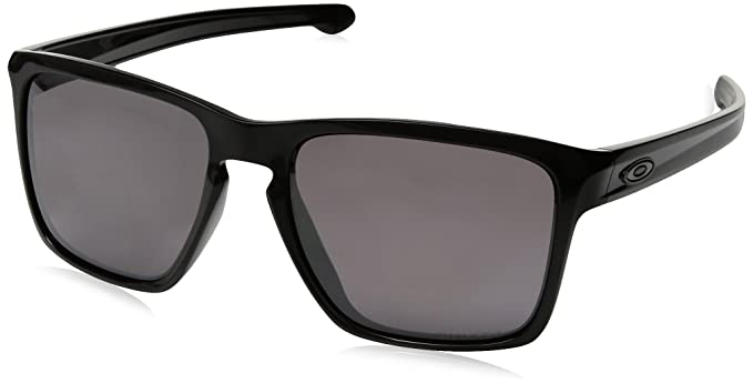 dc16154739e5 Oakley Mens Sliver XL Asian Fit Polarized Sunglasses, Polished Black/Prizm  Daily, One