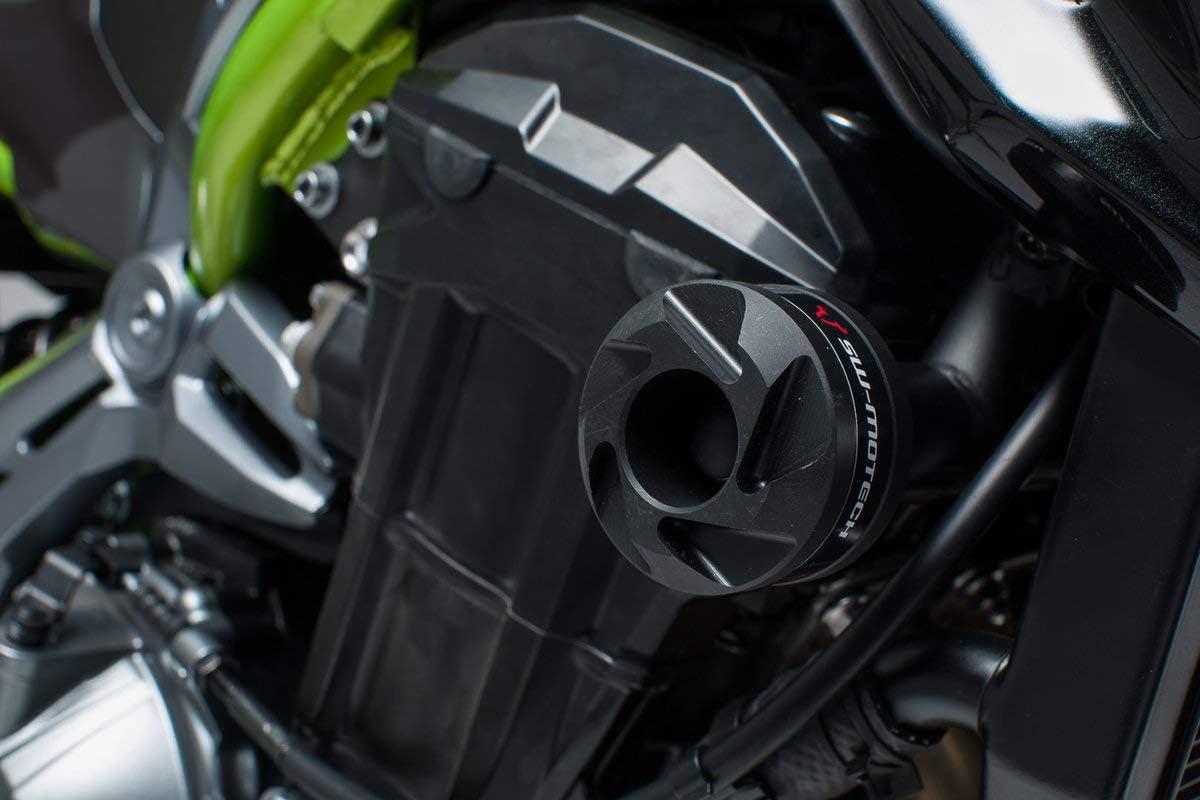 Sw Motech Sturzpad Kit Schwarz Für Kawasaki Z900 16 Z900rs 17 Auto