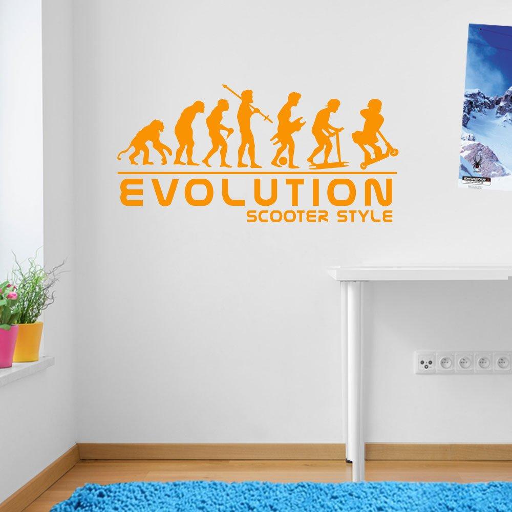 Stunt-Scooter Sport Evolution Scotter Stil Wand Dekorationen Fenster ...